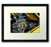Chromed and Blown Framed Print
