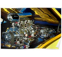 Chromed and Blown Poster
