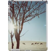 Tree and Cows iPad Case/Skin