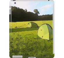 Campsite Scenes 1 iPad Case/Skin