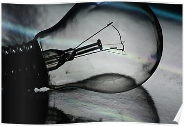 Light (bulb) and reflection by Ursula Rodgers