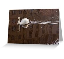 Cutting Reflections Greeting Card