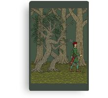 Wandering Ole Willow Canvas Print