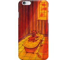 BATHTIME IN HELL iPhone Case/Skin
