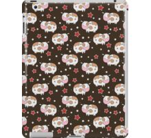 Stars and Cows Brown Pattern iPad Case/Skin