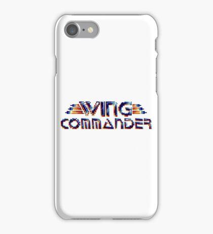Wing Commander - SNES Title Screen iPhone Case/Skin