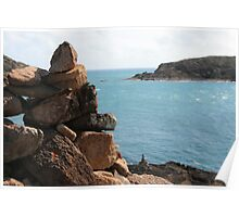 Rock Pile - Cape York Poster