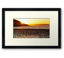 Precious moments. Framed Print
