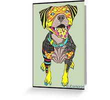 El Perro Greeting Card