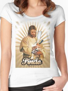 Pindo Loves To Party Women's Fitted Scoop T-Shirt