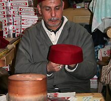 Making a Tarboush Hat by Laurel Talabere