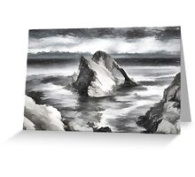The Bow Fiddle Rock Greeting Card