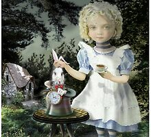Alice Tea Time by Russel Ball