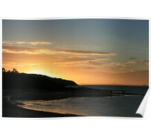 Headland Sunset - Cape York, QLD Poster