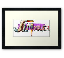 Jim Power Framed Print