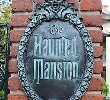 Haunted Mansion Disneyland by aSliceofDisney