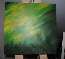 Green fever by TaraBear