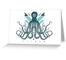The Majestic Octopus Greeting Card
