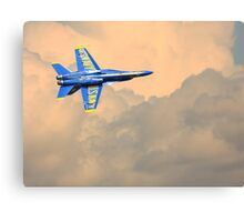 Angel in the Cloud Canvas Print