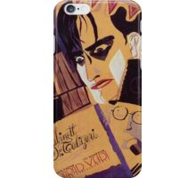 Caligari Poster 1 iPhone Case/Skin