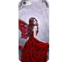 Winter Rose Butterfly Fairy iPhone Case/Skin