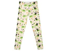 Lucky Green Turtle Pattern Leggings