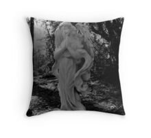 Sunlit Angel Throw Pillow