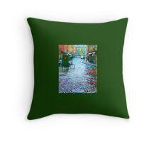 Rainy Day In Malmo Throw Pillow