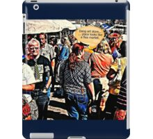 """""""DANG ART STORE!""""... prints and products iPad Case/Skin"""