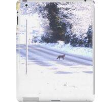 Fox in the Snow iPad Case/Skin