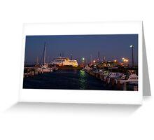 Twilight,Queenscliff Harbour  Greeting Card