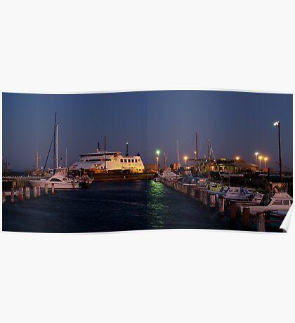 Twilight,Queenscliff Harbour  Poster