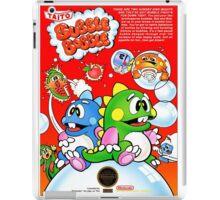 BUBBLE BOBBLE NES Box cover iPad Case/Skin