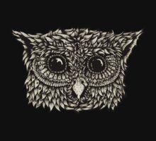 Staring owl Kids Tee