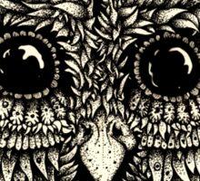 Staring owl Sticker
