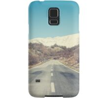 Road with mountain Samsung Galaxy Case/Skin