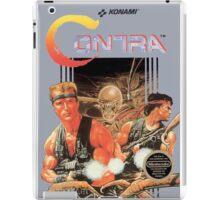 CONTRA NES Box cover iPad Case/Skin