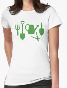 Green Garden Tools Womens Fitted T-Shirt