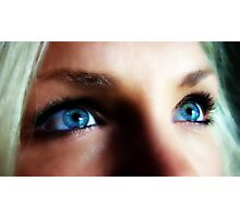 Blue Eyed Blond Photographic Print