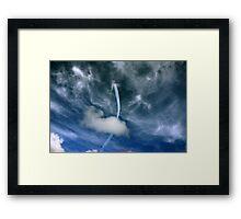 Red Arrows, Blue Sky 2009 Framed Print