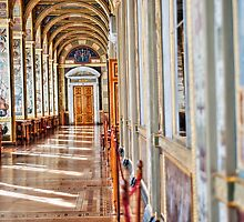 Arched Hall Hermitage Museum by robert cabrera