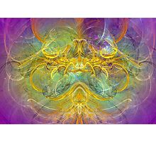 Obeisance to Nature , modern digital abstract art prints Photographic Print