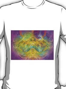 Obeisance to Nature , modern digital abstract art prints T-Shirt