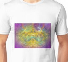 Obeisance to Nature , modern digital abstract art prints Unisex T-Shirt