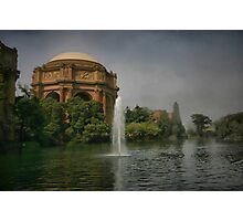 Palace in Fog Photographic Print
