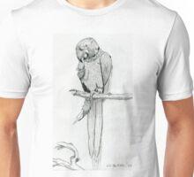 A Playful Parrot Unisex T-Shirt