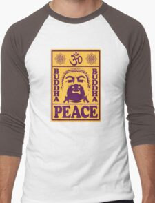 Peace Men's Baseball ¾ T-Shirt
