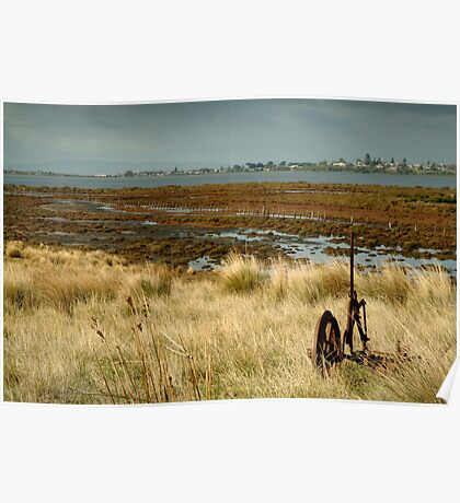 Beacon Point, view to Queenscliff Poster