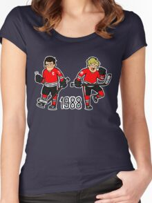 Dream Team Women's Fitted Scoop T-Shirt
