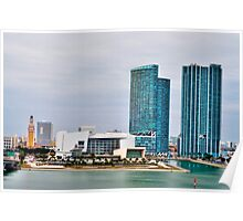 Miami Buildings Poster